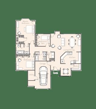 IH-floorplanUnitB-3Bdrm