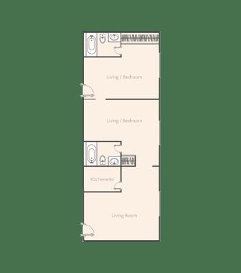 Two-Bedroom-B1+B1+B1